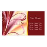Purple Fantasy, profile card Business Card Template