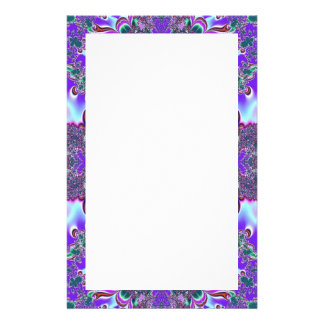 purple fantasy stationery
