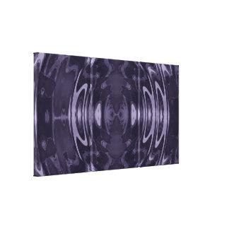 Purple Fantasy Wrapped Canvas Canvas Print