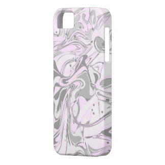 Purple faux marble texture case for the iPhone 5