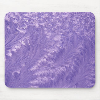 Purple Feathers Mouse Mat