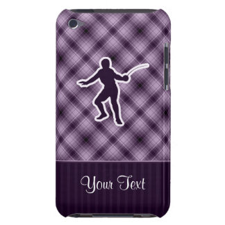 Purple Fencing Barely There iPod Cover