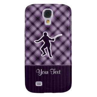 Purple Fencing Galaxy S4 Case
