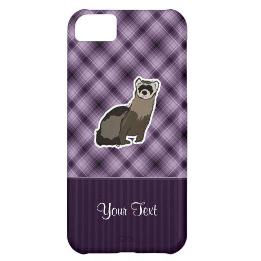 Purple Ferret Cover For iPhone 5C