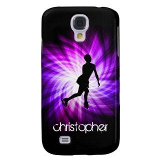 Purple Figure Skating Galaxy S4 Case