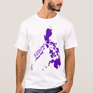 Purple Filipino Philippine Islands T-Shirt