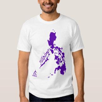Purple Filipino Philippine Islands Tshirts