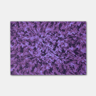Purple Fire Post-it Notes