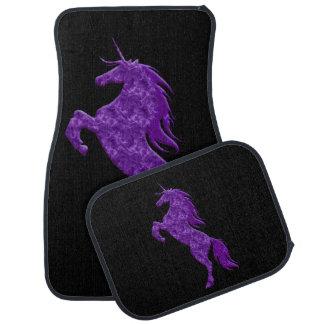 Purple Fire Unicorn Car Mats Floor Mat