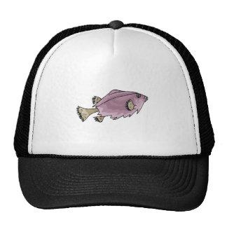 Purple Fish Mesh Hats