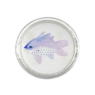 Purple Fish Ring
