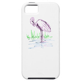 Purple Flamingo Cover For iPhone 5/5S