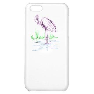 Purple Flamingo iPhone 5C Case