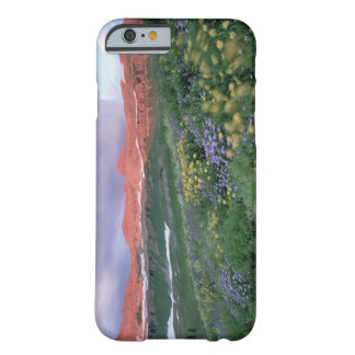 Purple Fleabane (erigeron peregrinus) and Yellow Barely There iPhone 6 Case