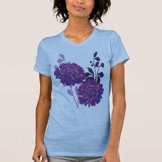 purple flora tank top