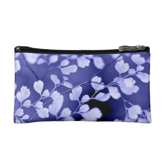Purple floral Cosmetic Bag
