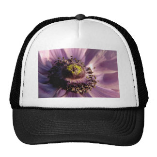 Purple Floral Hats