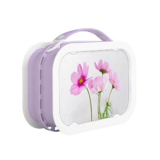 Purple floral lunchbox