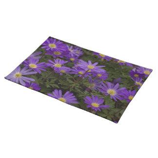 Purple Floral Placemat