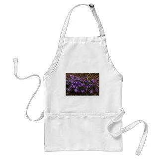 Purple Floral Standard Apron