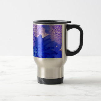 Purple Floral Travel Mug