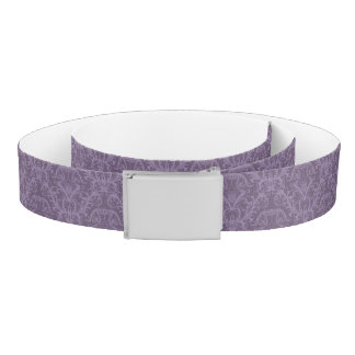 Purple floral wallpaper 2 belt