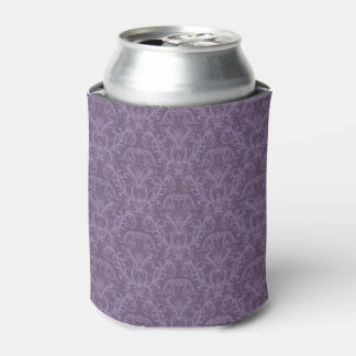 Purple floral wallpaper 2 can cooler