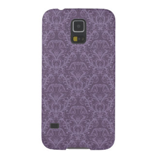 Purple floral wallpaper 2 case for galaxy s5