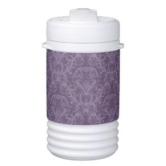 Purple floral wallpaper 2 drinks cooler