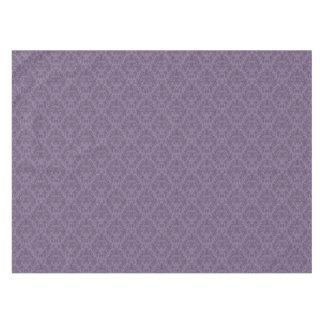Purple floral wallpaper 2 tablecloth