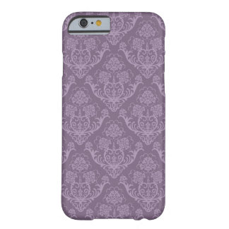 Purple floral wallpaper barely there iPhone 6 case