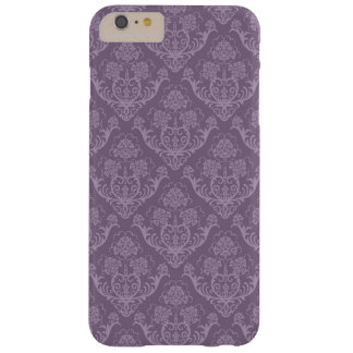 Purple floral wallpaper barely there iPhone 6 plus case