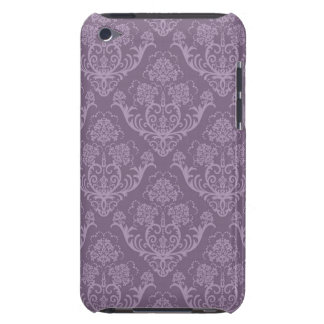Purple floral wallpaper barely there iPod case