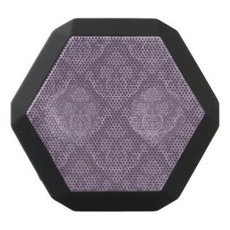 Purple floral wallpaper black boombot rex bluetooth speaker