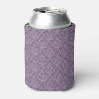 Purple floral wallpaper can cooler