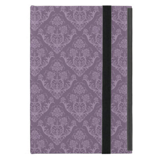 Purple floral wallpaper case for iPad mini