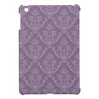 Purple floral wallpaper cover for the iPad mini
