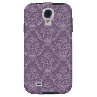 Purple floral wallpaper galaxy s4 case