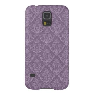 Purple floral wallpaper galaxy s5 case