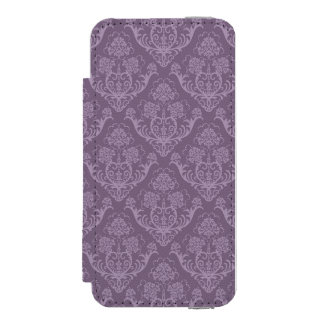 Purple floral wallpaper incipio watson™ iPhone 5 wallet case