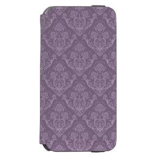 Purple floral wallpaper incipio watson™ iPhone 6 wallet case