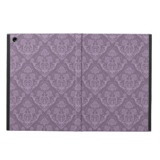 Purple floral wallpaper iPad air cover