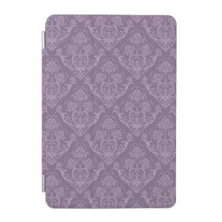 Purple floral wallpaper iPad mini cover