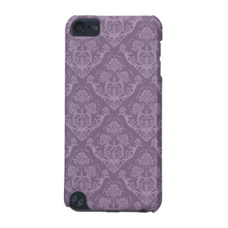 Purple floral wallpaper iPod touch (5th generation) case