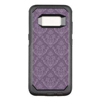 Purple floral wallpaper OtterBox commuter samsung galaxy s8 case