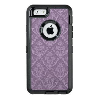 Purple floral wallpaper OtterBox defender iPhone case