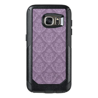 Purple floral wallpaper OtterBox samsung galaxy s7 case