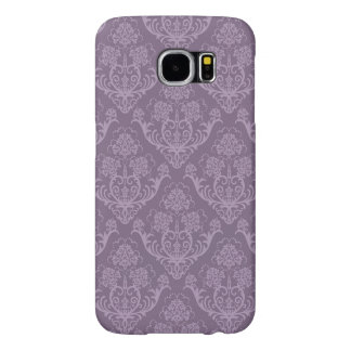 Purple floral wallpaper samsung galaxy s6 cases