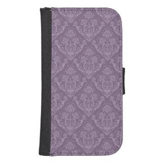 Purple floral wallpaper samsung s4 wallet case