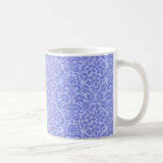 Purple Floral Wedding Mug or Cup Wedding Gift